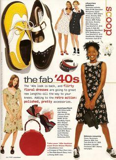 Seventeen magazine, early 90s