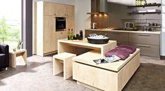 Sitzbank vor kochinsel küche pinterest kochinsel sitzbank und