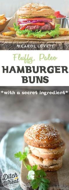 These light and fluffy Hamburger Buns are ridiculously easy to make.  Just mix the ingredients together, pour it into the molds and bake!