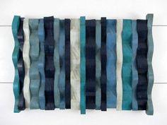 personalizzato muro arte parete blu arte di TheInspiredDragonfly