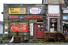 """Days Gone By...Old store front in """"Snohomish, Washington"""