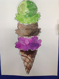 Color It Like you MEAN it!: I scream, you scream, we all scream for ICECREAM!!...