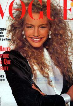 Vogue France, September 1988Photographer: Patrick DemarchelierModel: Michaela Bercu