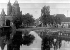 De Amsterdamse Poort omstreeks 1912
