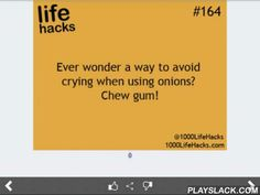 Best Life Hacks Collection  Android App - playslack.com , Perhaps this is one of the most useful applications that you have ever seen. It's interesting and unusual! There is a huge, regulary updated database of practical recommendations on various themes. There are only the most effective ideas.We are surrounded by a huge number of hidden opportunities, which we do not even think of. But if we learn to recognize and use them, our life will become easier, more creative and more effective! We…