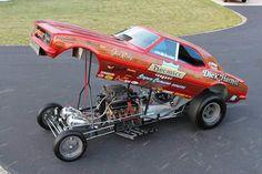 Dick Harrell's beautiful Camaro funny car