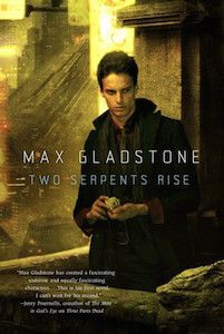 A few years ago I read, and greatly enjoyed, Max Gladstone's THREE PARTS DEAD, a totally new take on fantasy and magic, and afterwards I kept reminding myself to read more of this series – especial…
