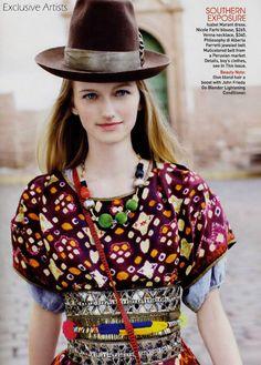 "Vestida Para la Festa"": Tiiu Kuik by Michael Filonow for Vogue Latin America"