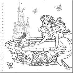desenhos colorir princesas disney - 006