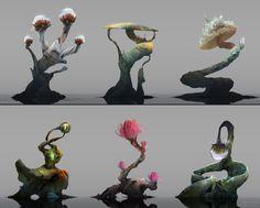 "orelfworld: ""Plants asset design. """
