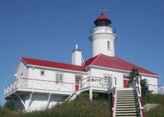 The historic lighthouse was restored by Duvetnor Ltée. in 1989 as a bed and breakfast inn. The company also offers guided tours of the islan...