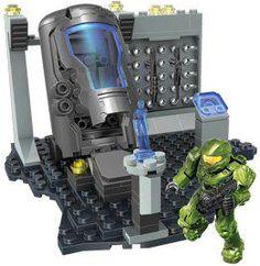 Halo Mega Bloks Set #97088 UNSC Cryo Bay New!