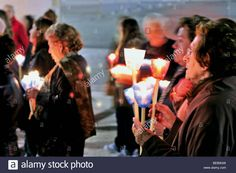Download this stock image: Portugal: Nocturnal candle light procession at the sanctuary of Fátima - BEB9GW from Alamy's library of millions of high resolution stock photos, illustrations and vectors.