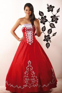 Hungarian Embroidery Ideas tradtional wear, Hungary, red dress with Hungarian motives Hungarian Embroidery, Learn Embroidery, Embroidery Ideas, Folklore, Beautiful Dresses, Nice Dresses, Hungarian Girls, Folk Costume, Costumes