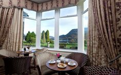 Time for tea? Inn on the Lake, Ullswater, Lake District, Cumbria