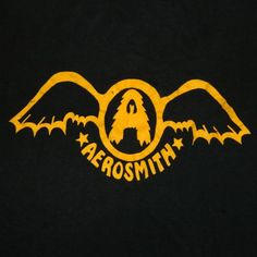 Aerosmith Logo from '74! #aerosmith #steventyler