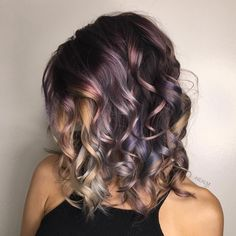 Obsessed rose gold hair colors & highlights for women in 2018 00009 - Hair - How To Choose The Right Hair Color For Your Skin Tone Hair Color Highlights, Hair Color Balayage, Ombre Hair, Haircolor, Hair Color And Cut, Cool Hair Color, Gold Hair Colors, Latest Hair Color, Pretty Hairstyles