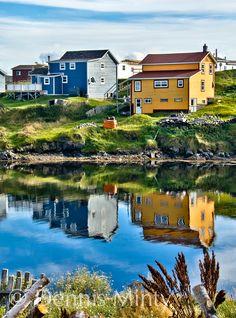 Late Summer . Fogo, Newfoundland, Canada                              …