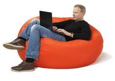 FLEXIBLE SITZMÖBEL - Schulz Österreich Bean Bag Chair, Orange, Mini, Furniture, Home Decor, Neutral, Environment, Homemade Home Decor, Home Furnishings