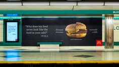 "McDonald's ""Our Food, Your Questions"" #DDB #Canada #McDonalds #advertising"