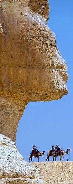 Great Sphinx of Giza (تمثال أبو الهول)