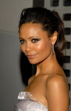 Thandie Newton, actress is the daughter of a Zimbabwean Shona princess. Her acting credits include For Colored Girls, Good Deeds, and The Pursuit of Happyness.