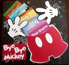 The Online Community and Scrapbook Club from Creating Keepsakes. Disney scrapbook ideas.