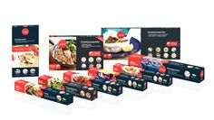 Pennanen Design - Packaging design for SAGA, brand of cooking and baking papers
