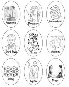LDS General Conference Easter Activities