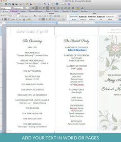 free printable wedding programs templates sample wedding