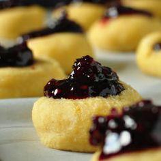Jam cookies, Cookies and Sweet on Pinterest