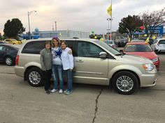 KAREN AND KIM's new 2014 Chrysler Town & Country! Congratulations and best wishes from Kunes Country Ford Lincoln of Delavan and Alex Gomez.