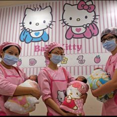 Hello kitty themed hospital in Japan. Coolest hospital EVER!!!!