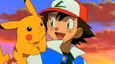 Ash and Pikachu from Pokemon