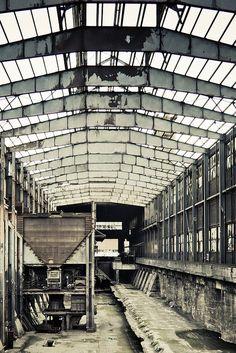 Abandoned Steel Factory  Belvaux, Esch-sur-Alzette.
