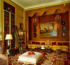 ~royaltyandpomp:   Villa Windsor, Paris, of the Dukes of Windsor