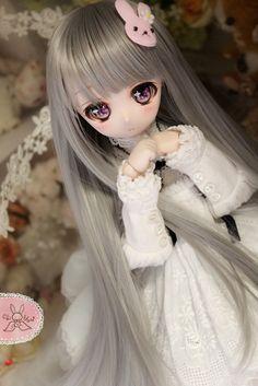 Sylveon Sakurafell ♡ *Rabbit DDH-01*SW肌カスタム+自作アイ(オークション) *No.441