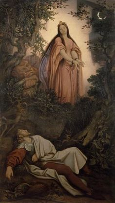 Die gefangene Prinzessin (oder: Der Traum des Ritters)