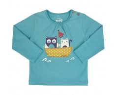 Kite Kids Baby Girls Owl And Pussy Cat T-Shirt