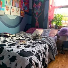 Home Decoration Ideas Easy .Home Decoration Ideas Easy Room Ideas Bedroom, Bedroom Inspo, Bedroom Inspiration, Dream Rooms, Dream Bedroom, Neon Bedroom, Pretty Bedroom, Indie Room, Chill Room