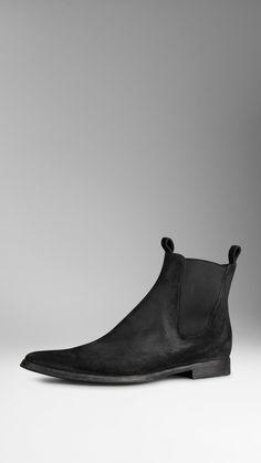 Suede Chelsea Boots | Burberry