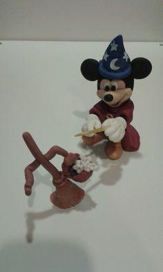 Topolino fantasia pasta di mais #handmade