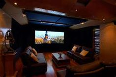 small home theater room ideas Home Theater Setup, Best Home Theater, At Home Movie Theater, Home Theater Speakers, Home Theater Design, Home Theater Projectors, Home Theater Seating, Home Interior Design, Theater Rooms