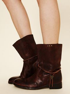 Hollywood Trading Company HTC Sienna Leather Boot at Free People Clothing Boutique