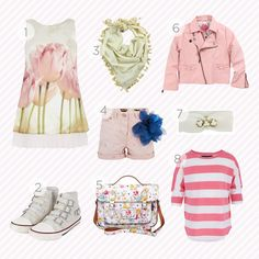 Spring time shopping guide for girls by www.kid-a.gr