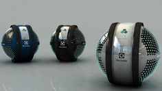 """Swarming robot cleaner concept wins Design Lab 2013 By Bridget Borgobello October 20, 2013 Young designer Adrian Perez Zapata from Colombia, won this year's competition with his automated home cleaning concept entitled """"Mab"""""""