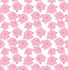 Get Together Pig Toss in Pink by David by scarletthreadquiltco, $9.00