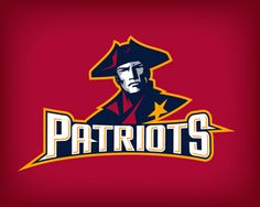 The Patriot Logo design - This logo has a patriotic feel. It can be used mainly for college sports or sport clubs. Price $400.00