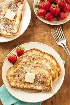 How To Make Delicious French Toast I Love Food, Good Food, Yummy Food, Tasty, Quick Healthy Breakfast, Breakfast Recipes, Breakfast Ideas, Tostadas, High Tea