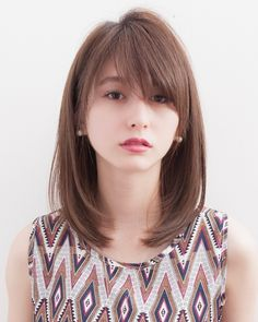 Pin Image by Blondes Styles Haircuts For Long Hair With Layers, Haircuts Straight Hair, Haircuts For Medium Hair, Short Straight Hair, Girl Haircuts, Girl Short Hair, Medium Fine Hair, Medium Hair Cuts, Medium Hair Styles